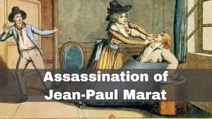 13th july 1793 jean paul marat bed to in his bathtub by charlotte corday