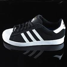 adidas shoes superstar black and white. superstar vulc adv shoes black suede, white, white in stock at the boardr adidas and