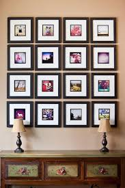 black picture frames wall. Brilliant Black 23 Instagram Gallery Wall Ideas For Trendy Dcor Shelterness Small Black  Picture Frames On