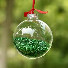 Glass Balls For Decoration Dia100cm Clear Glass Balls Christmas Ornaments Pendants with shiny 8