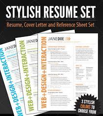 20 Best Resume Templates | Web & Graphic Design | Bashooka