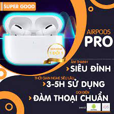Tai Nghe Bluetooth Airpods Pro 3 ( Phiên bản Nâng Cấp 2021) - Fix Icon -  Định Vị - Đổi Tên - Sạc Không Dây Cao Cấp - Tai nghe nhét tai & chụp tai