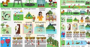 Outdoor Activities List Of Outdoor Activities With Pictures