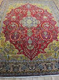 rug 300 x 400. outstanding persian qum silk and wool rug, with garden hunting design about 20 years old.410 x 305 cm rug 300 400 1
