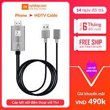 Cáp Kết Nối Tất Cả Điện Thoại Với Tivi - Dùng Cho Iphone, Samsung, Oppo,  Huawei, Sony, Xiaomi...| 2K cable