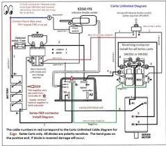 reversing contactors contactor wiring diagram pdf general reversing contactor installation cartsunlimited net 9 26 13 your install instruction may vary