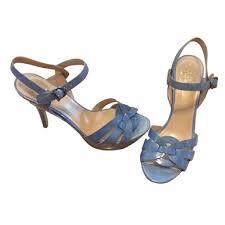 Vince Camuto Periwinkle Blue Sandals