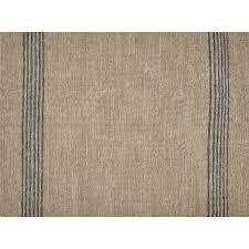 strike natural leather rug