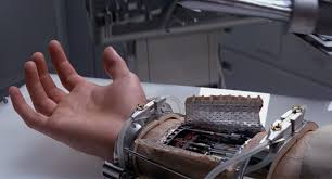 Image result for The prosthetic hand of 'Luke Skywalker'