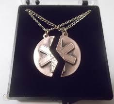 bronze star of life necklace set