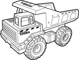 Tonka Truck Coloring Pages Abc Coloring Pages Truck Coloring
