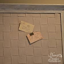 woven fabric memo bulletin board plumdoodles com
