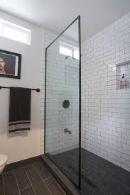 bathroom gray subway tile. Bathroom: Best Choice Of Bathroom Gray Subway Tile Wall Houzz On From B