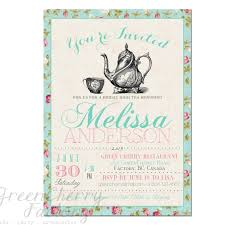 Kitchen Tea Invites Tea Party Bridal Shower Invitations Hollowwoodmusiccom