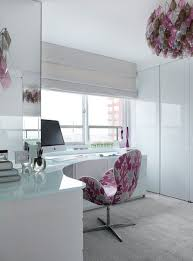 design office ideas. Plain Ideas Pink And White Glass Corner Office Inside Design Office Ideas I