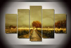 frame printed vineyard wall art room decor print poster picture canvas free adorable landscape high quality