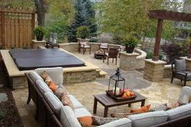 patio ideas with hot tub. Exellent Ideas Inground Hot Tub Design Ideas Pictures Remodel And Decor  Page 2 Inside Patio Ideas With O