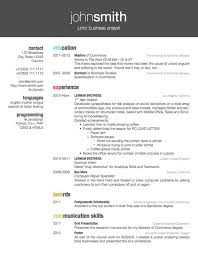 resume examples latex resume templates cv mit tutorial class