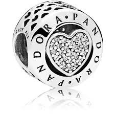 pandorasignature heart charm 796218cz