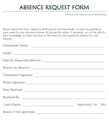 Time Off Request Form 5 Sample Leave Of Absence Unpaid Vacation ...