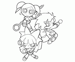 Powerpuff Girls Z Coloring Pages Coloring Home