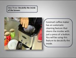 Its custom controls let you defrost and toast bagels and bread — just the way you want them press any of the How To Clean Cuisinart Coffee Maker 8 Simple Methods