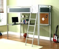 metal loft bed with desk metal bunk bed with desk bunk bed and desk kids metal metal loft bed with desk