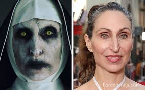 horror actors in out of makeup