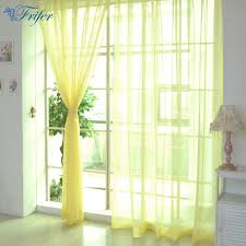 100*200cm Cheap Modern Window Curtain Home White Tulle Curtains for ...