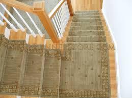 contemporary stair runner landing 2743