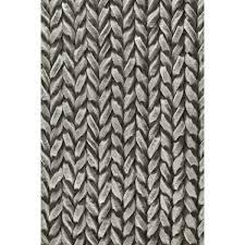 rug guru urbane grey whisper hand woven wool felt rug