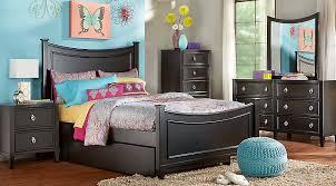 brilliant black bedroom furniture lumeappco. Jaclyn Place Black 5 Pc Twin Panel Bedroom Teen Sets Brilliant Furniture Lumeappco