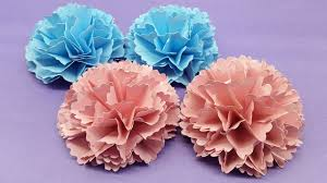Flower Out Of Paper How To Make Carnation Flower Out Of Paper Making Paper Flower Step