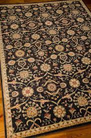 kathy ireland ancient times bab01 black area rug