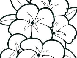 Free Flower Coloring Sheets Coloring Pages Flowers Free Coloring