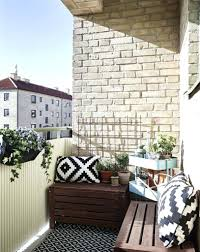 Balcony Bench Tips And Tricks For Decorating A Small Balcony Storage Bench  Tips Tricks Decorating Small