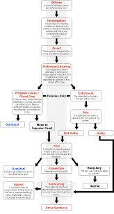 Criminal Law Elements Chart Criminal Court System Court Process Flow Chart Criminal