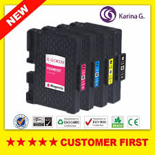 Ricoh Toner Compatibility Chart 4 Pack Compatible Pigment Ink Cartridge For Ricoh Gc41 For