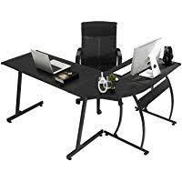 Home office cool desks Modern Greenforest Office Desk Corner Shaped Workstation Laptop Table Amazoncom Amazon Best Sellers Best Home Office Desks