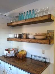 open wood shelves wood kitchen wall shelf decoration designs open rustic storage