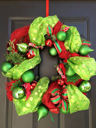 diy mesh garland christmas wreath