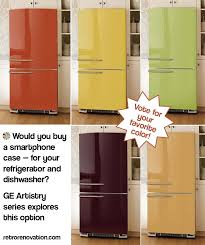 ge retro appliances.  Retro Breaking News  VOTE GE Considers Colorful Replaceable Panels For Its  Newest Appliance Series Inside Ge Retro Appliances D