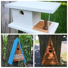 vermont woodworker steve hadeka creates unique birdhouses in his work pleasant ranch using local hard and soft woods and acrylic his creations bring