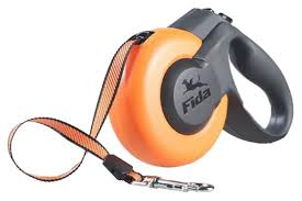 Купить поводок-<b>рулетка Fida Mars</b> 500см оранжевый, цены в ...