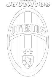 Disegno Logo Squadra Calcio Juventus Colorare Cakes Cookies Nel