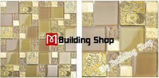 yellow gold glass mosaic kitchen wall tile backsplash rnmt080 resin flower mosaic tiles bathroom glass tiles
