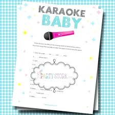Unique Baby Shower Game Ideas Girl Baby Shower Game By Girl By ...