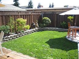 Small Picture Landscape Design Small Backyard Home Design