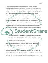 thematic concerns in the open boat research paper  thematic concerns in the open boat essay example