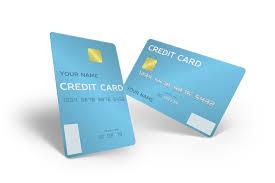 3d portrait credit card front and back mockup generator